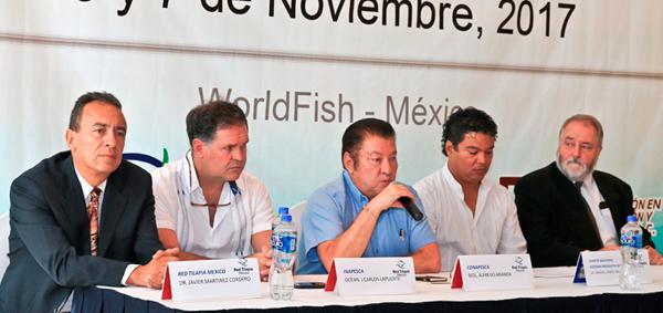 Realizan Taller CONAPESCA y Red Tilapia México para definir estrategias de impulso al desarrollo de esta especie en el país